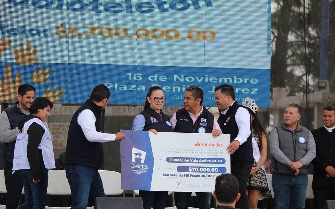 Entregó municipio 70 mil pesos a Fundación Vida - El Heraldo de Chihuahua