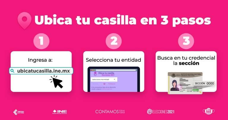 No sabes dónde te toca votar? Ubica tu casilla - El Heraldo de Chihuahua |  Noticias Locales, Policiacas, de México, Chihuahua y el Mundo