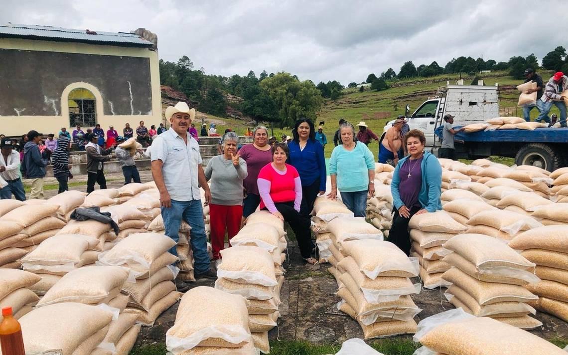 Llevarán frijol y maíz a comunidades de la sierra - El Heraldo de Chihuahua