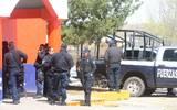 Policías Estatales en recorrido por Ignacio Zaragoza